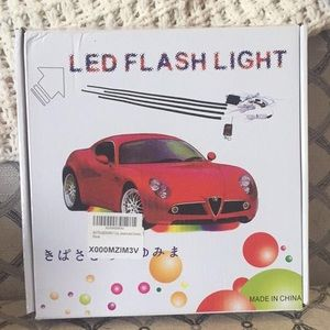 LED light strips for your car (COLOR CHANGING)